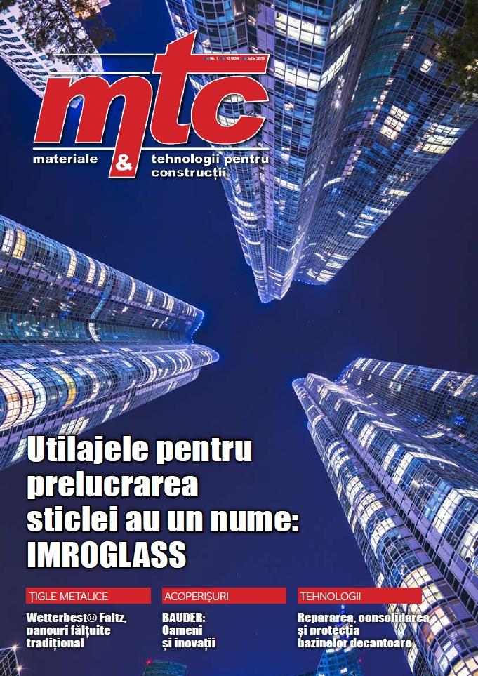 revista materiale si tehnologii de constructii iulie 2016