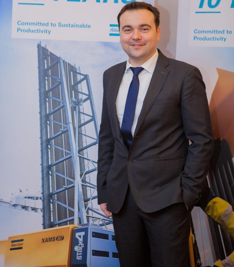 """Liviu Chelaru, Atlas Copco România: """"Investițiile din segmentul automotive aduc cele mai multe proiecte în sectorul industrial"""""""