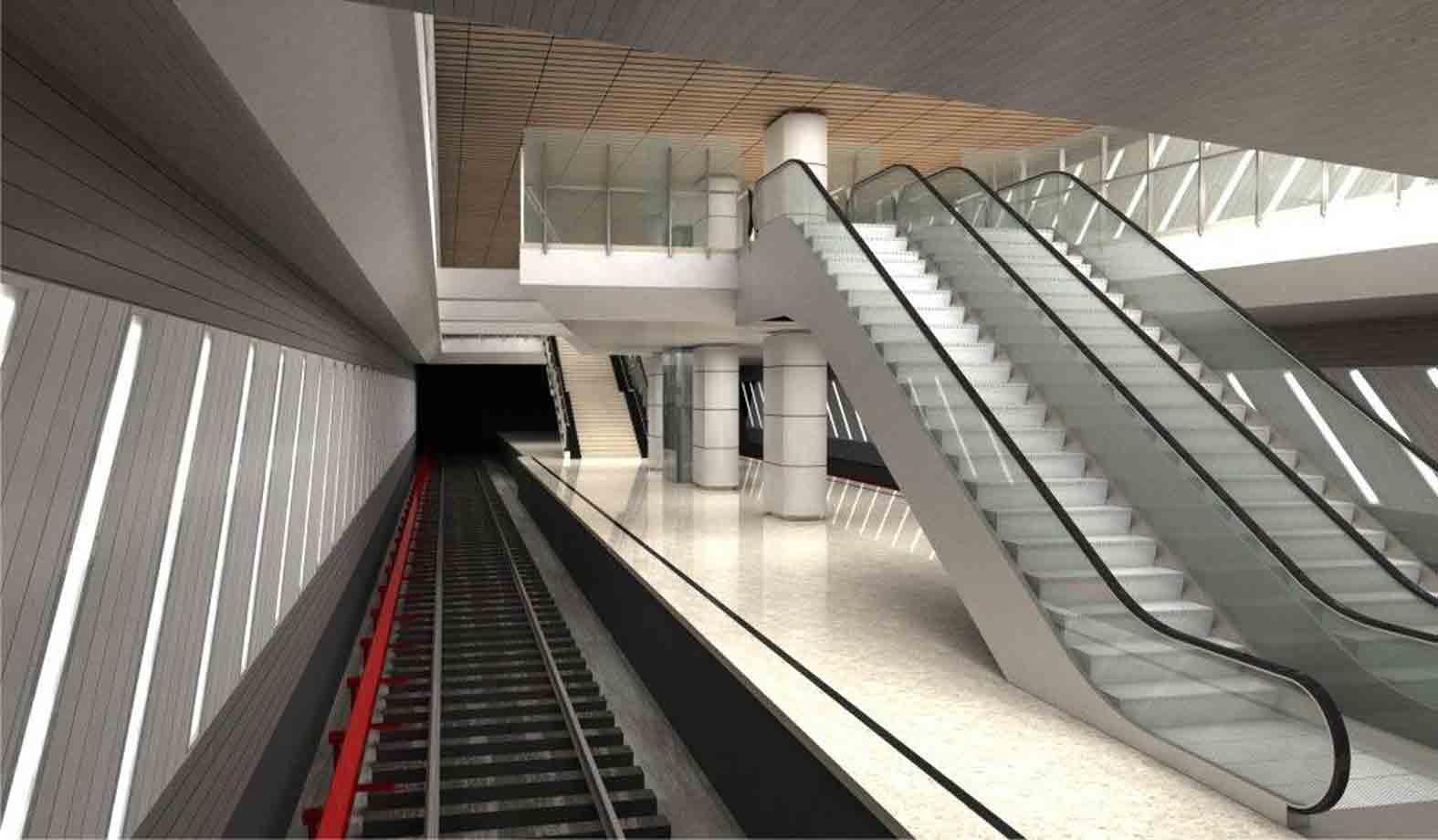 Stația Străulești va fi prima care va face parte dintr-un nod intermodal pentru metropola București
