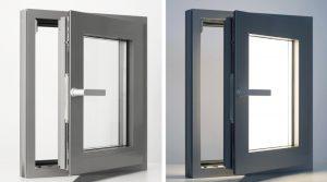 Fenstersystemmit ALED Daylight Technologie OFF/ON. Foto: lightglass