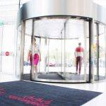 The-Globalworth-Tower,-Record,-usi-rotative-automate,-Blasi,-Aluterm,-Bucuresti,-Bucharest-One-(11)
