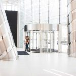 The-Globalworth-Tower,-Record,-usi-rotative-automate,-Blasi,-Aluterm,-Bucuresti,-Bucharest-One-(15)