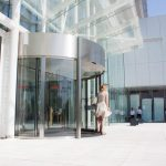 The-Globalworth-Tower,-Record,-usi-rotative-automate,-Blasi,-Aluterm,-Bucuresti,-Bucharest-One-(17)