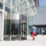 The-Globalworth-Tower,-Record,-usi-rotative-automate,-Blasi,-Aluterm,-Bucuresti,-Bucharest-One-(18)