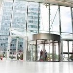 The-Globalworth-Tower,-Record,-usi-rotative-automate,-Blasi,-Aluterm,-Bucuresti,-Bucharest-One-(7)