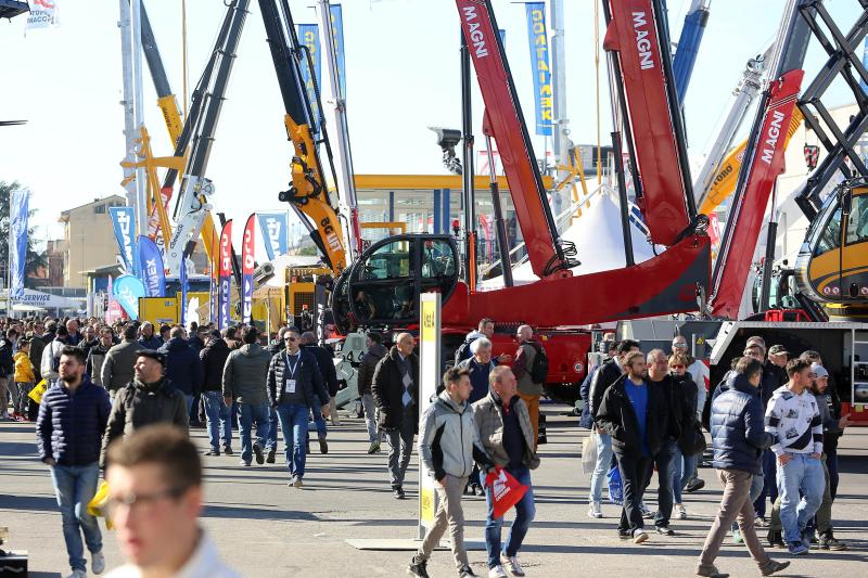 Transpotec-Logitec, Samoter and Asphaltica: 84,000 visitors in Verona from 86 countries