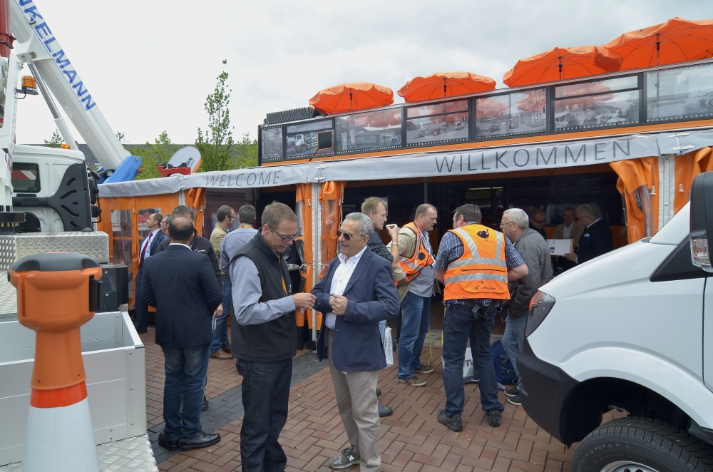 Over 90 brands on show at the world's largest dedicated access equipment show