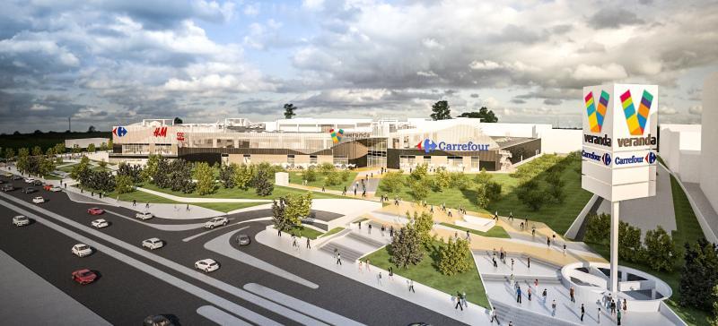 INAUGURARE: Mallul Veranda atrage 20.000 de vizitatori pe zi