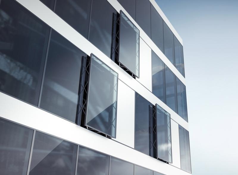GEZE introduce noi sisteme pentru fațade active climatic și un control inteligent al clădirilor