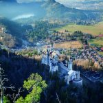 The idyllic location of Neuschwanstein surrounded by lakes and mountains is unique worldwide.