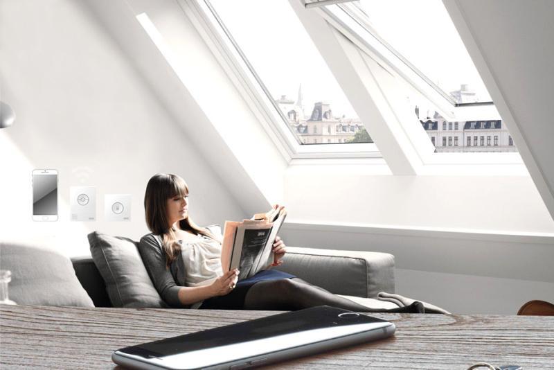 VELUX Active: ferestre de mansardă controlate automat  pentru case inteligente