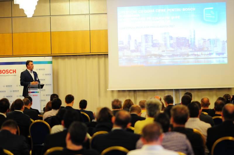Conferința anuală de presă 2017, București, Creștere cu două cifre pentru Bosch în România, Concentrare pe educaţie și pe dezvoltarea angajaților