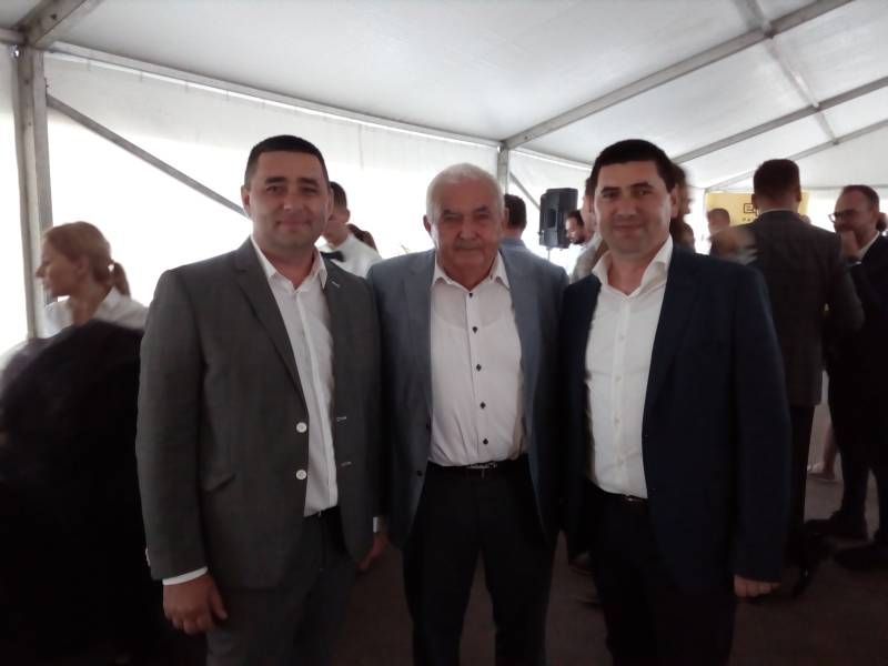 Lansarea celui mai mare showroom de pavele, la implinirea a 10 ani Elis Pavaje,  Stoenesti