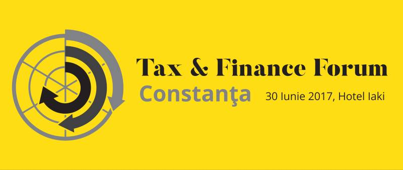 """Specialiștii din domeniul consultanței fiscale se reunesc la evenimentul """"Tax & Finance Forum"""" de la Constanța"""