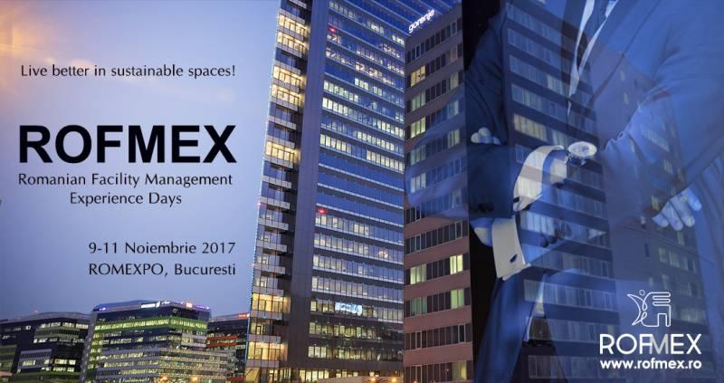 ROFMEX – Expozitia de echipamente, produse, tehnologii si solutii pentru facility management si servicii suport