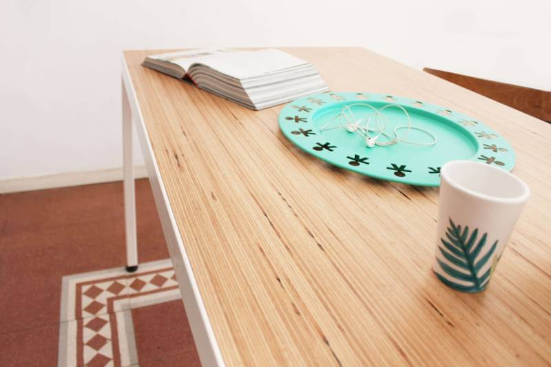 Table designed by Pilati