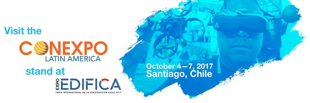 Preview Technology of Tomorrow: Visit CONEXPO Latin America Stand at Edifica 2017