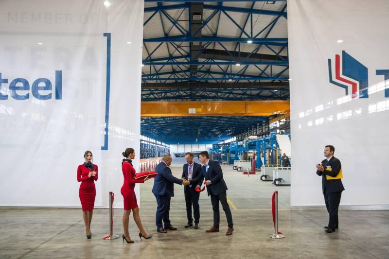 Grupul Teraplast a deschis TeraSteel Serbia, prima fabrica romaneasca inaugurata in strainatate dupa 1990