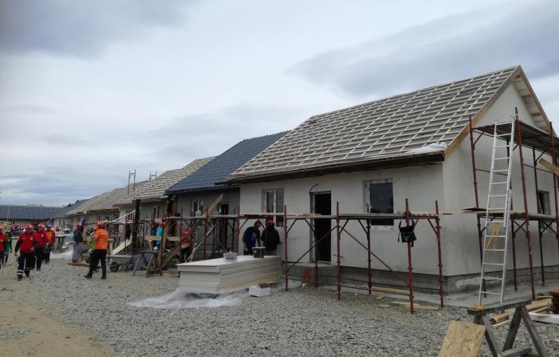 BRAVO EUROPA a susținut Habitat for Humanity România cu acoperișuri în valoare de 40.000 de euro