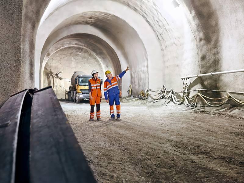 """MasterEase contribuie decisiv la construcția Tunelului """"de Champel"""" din Geneva, Elveția"""