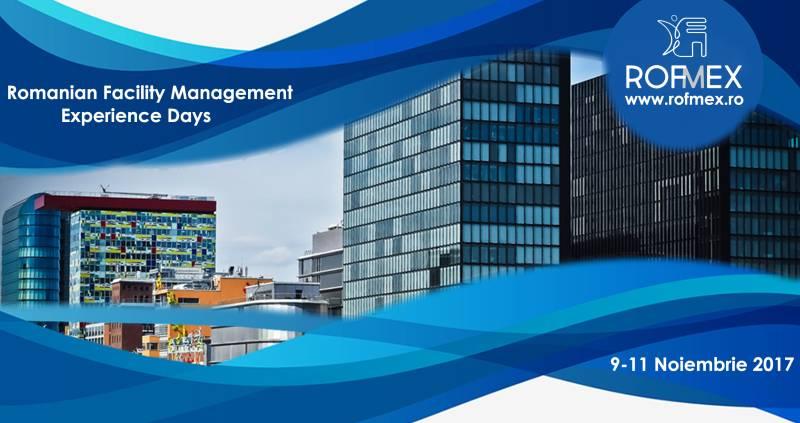Pe 9-11 noiembrie, toată piața de facility management și servicii suport va fi la ROFMEX 2017!