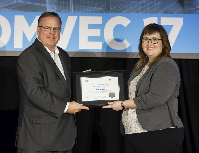 John Deere Senior Engineer Amy Jones Wins SAE/AEM Outstanding Young Engineer Award