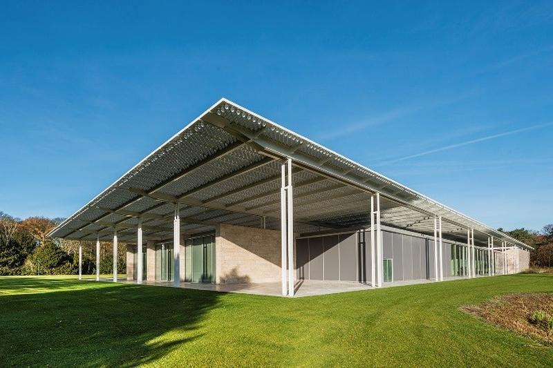 Curtain walls and Renson sun screen – The perfect match at Museum Voorlinden