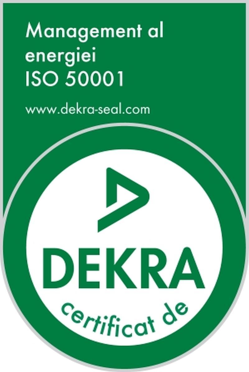 Certificat ISO 50001