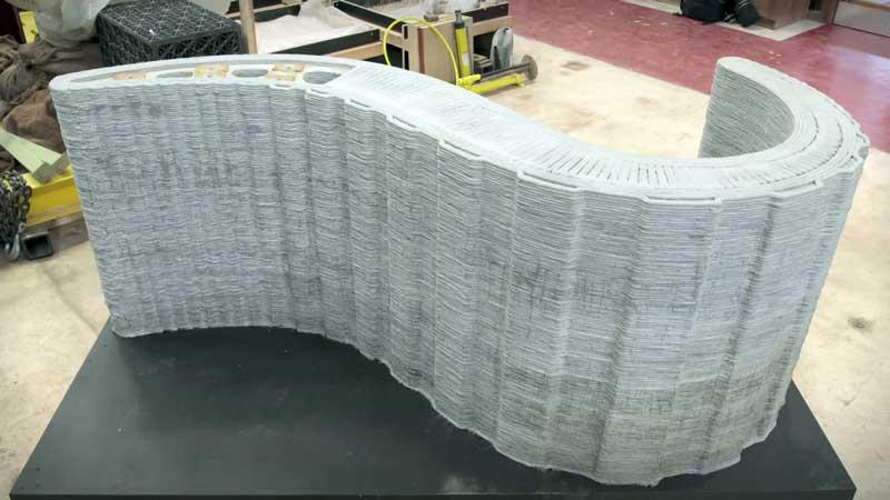 Imprimantele 3D revoluționează industria materialelor de construcții