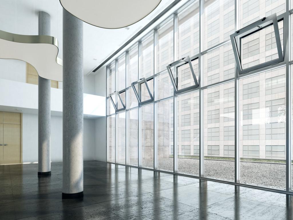 Soluții personalizate GEZE în a doua cea mai înaltă clădire din Capitală, Bucharest One