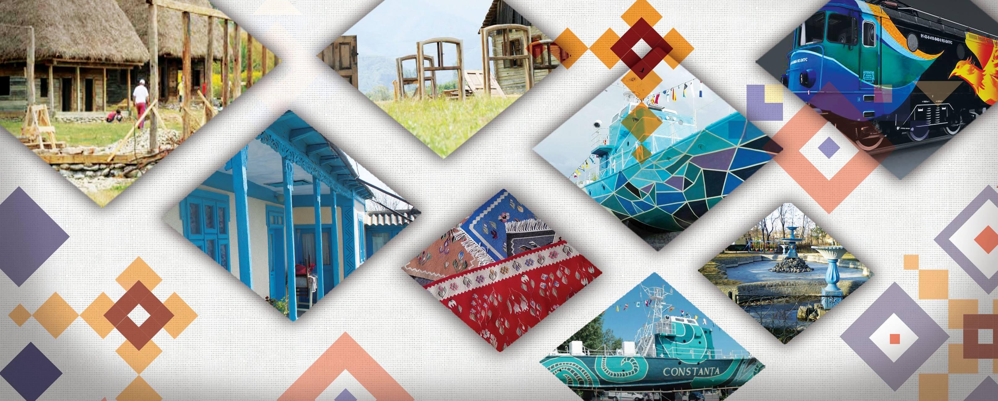 Patru vapoare simbol ale Constanței, transformate în opere de artă urbane!