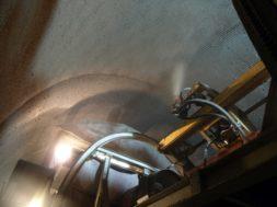 Aplicarea mortarului antifoc in apropierea intrarii sudice a Tunelului Gottard asigura rezistenta structurii la temperature de 1400 grade C timp de 90 de minute