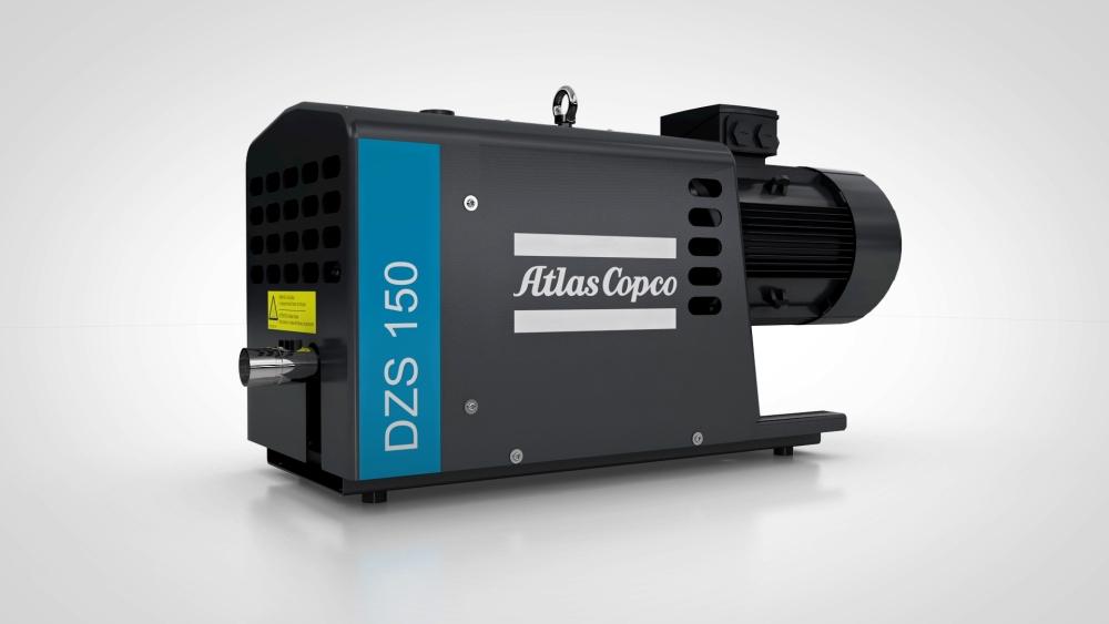 Atlas Copco lansează gama de Pompe de Vacuum DZS, cu profil tip gheară și costuri reduse de exploatare