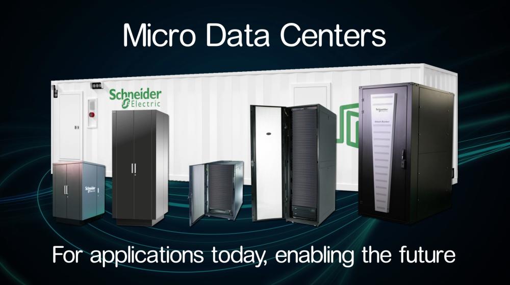 Schneider Electric lansează noi soluții pentru micro centre de date dedicate aplicațiilor edge computing și industriale
