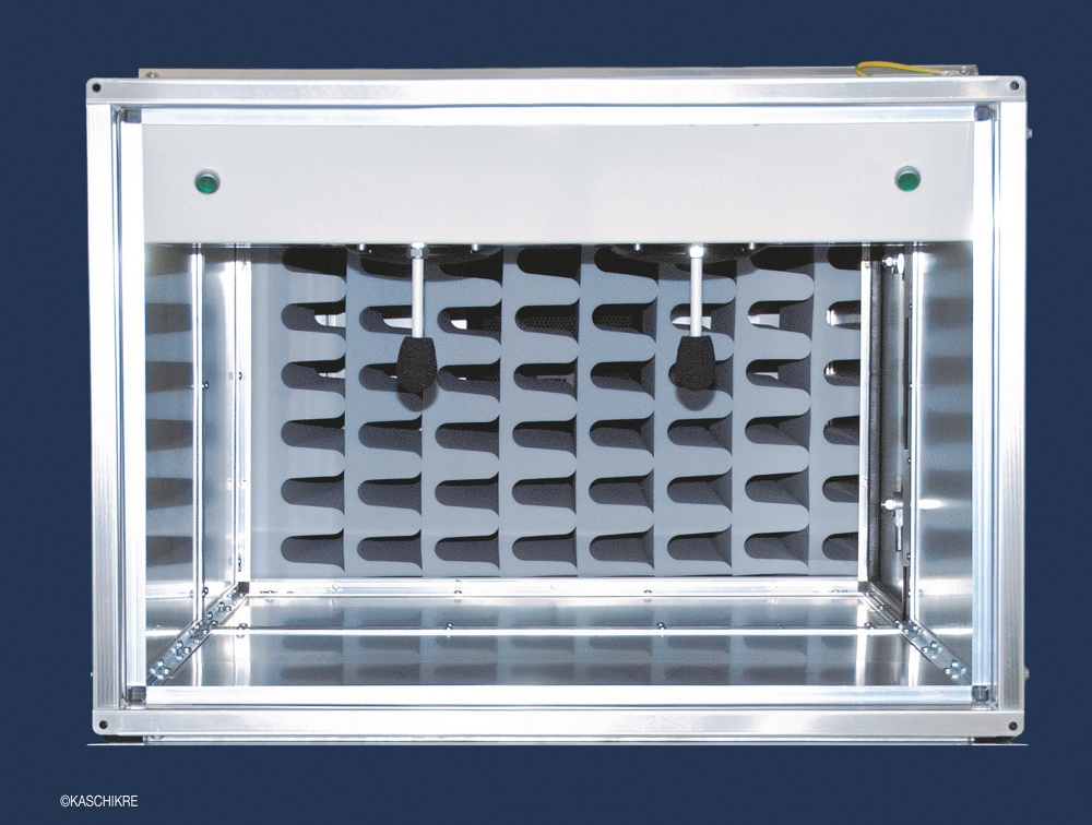 Prima utilizare a spumei Basotect® pentru anularea zgomotului produs de aparatele de climatizare