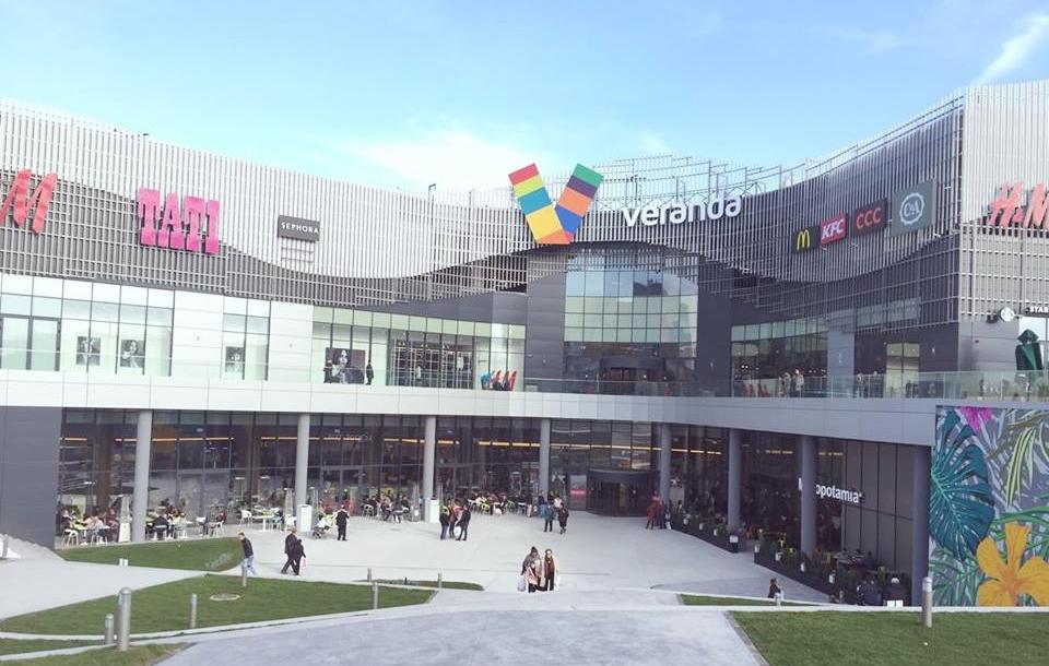 Sistemele GEZE integrate în cel mai nou centru comercial, Veranda Mall