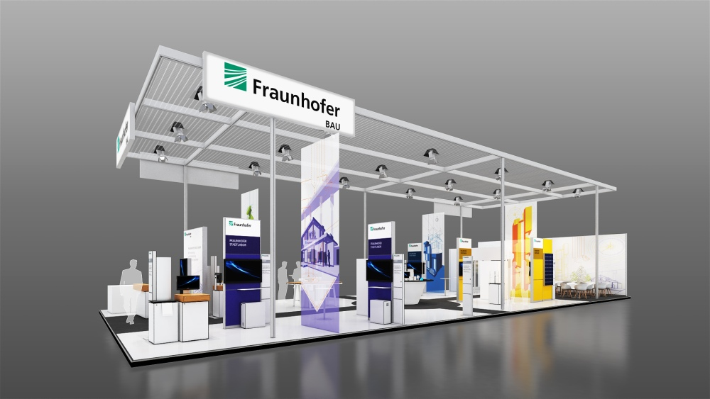 Creating living spaces for people: The »Fraunhofer CityLaboratory« at BAU 2017