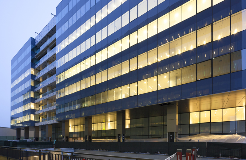 Alukönigstahl Romania a livrat in 2016 sisteme din aluminiu pentru mai mult 100.000 mp pereti cortina pentru proiecte de cladiri de birouri
