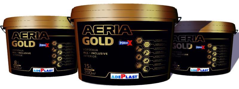 ADEPLAST – Superlavabila AERIA GOLD, un produs high premium