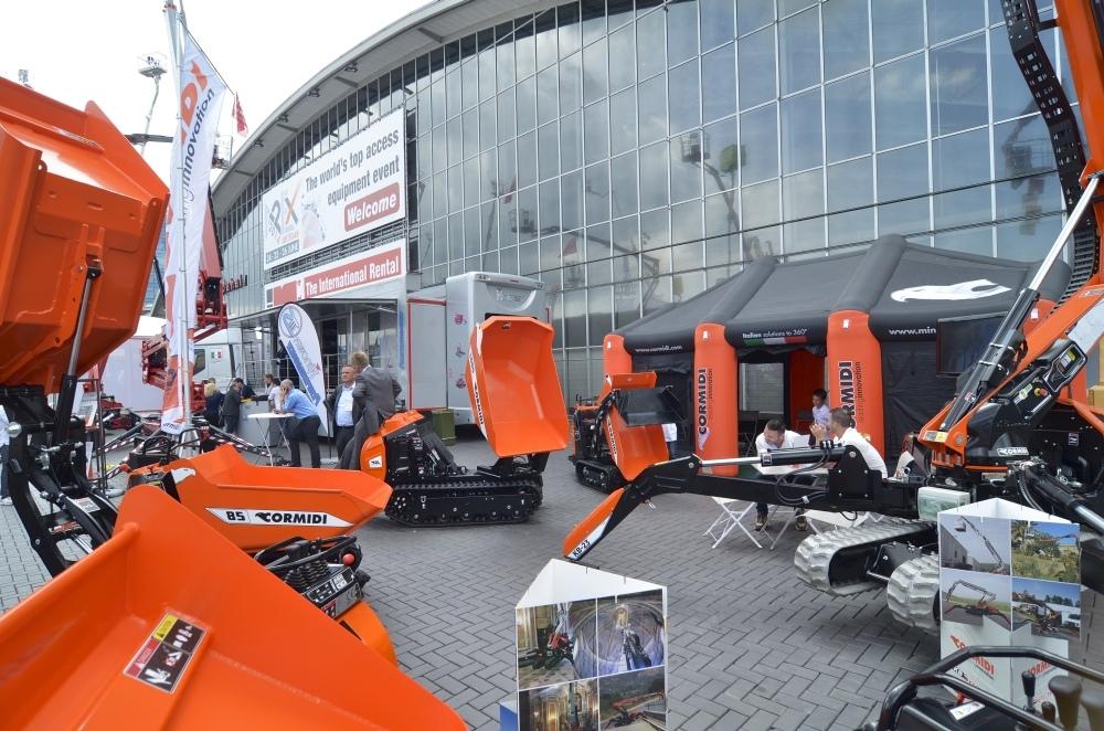 APEX 2017,  Expozitia Internationala de Platforme Aeriene de la Amsterdam 2-4 mai, spatiile in totalitate inchiriate