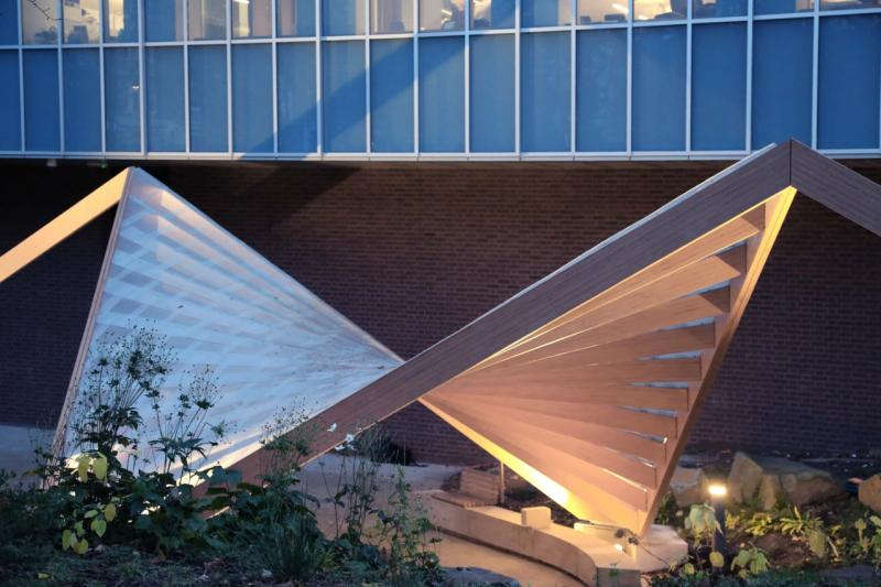 Design Museum in London now features pavilion made in BauBuche