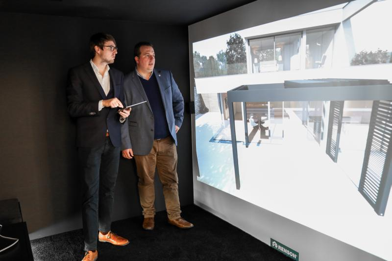 Renson opensits first entirely virtual showroom