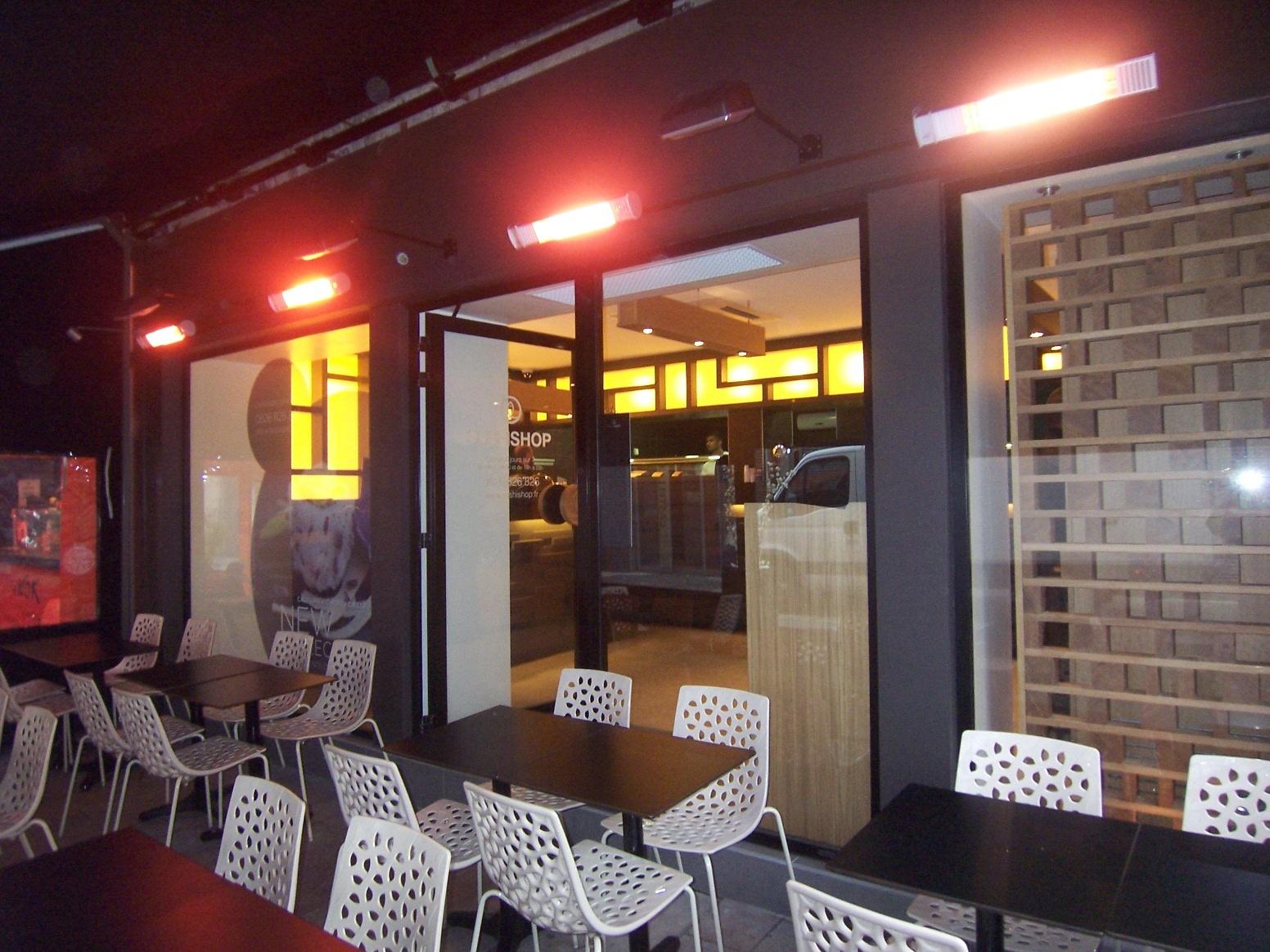 Delphi Electric – Panouri radiante DELEX pentru încălzirea teraselor