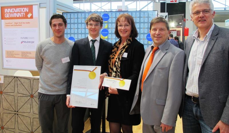 Future-Shapegewinnt erneut den Innovationspreis des Bundesministeriums für Wirtschaft und Energie.