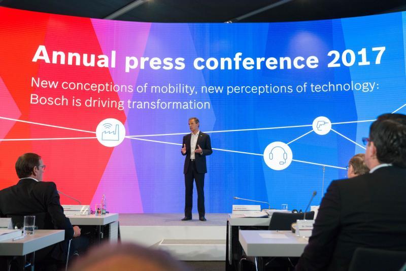 Un început bun al acestui an: Bosch îşi îmbunătățește vânzările în toate sectoarele de activitate și regiunile