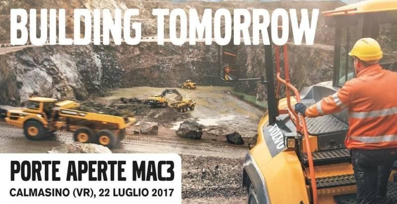 Porte aperte Volvo e Mac 3 Srl il 22 luglio