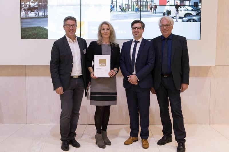 Expo Real 2017: DGNB mit Rekordzahlen bei der Zertifizierung