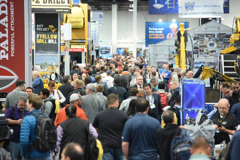 Expectation Builds for World of Concrete 2018