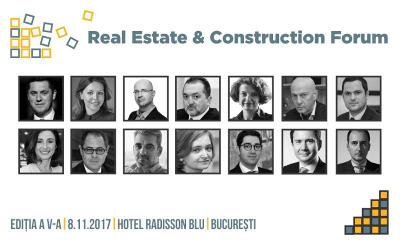 """Evenimentul """"Real Estate & Construction Forum"""" reunește cei mai mari jucători de pe piața de imobiliare și construcții"""