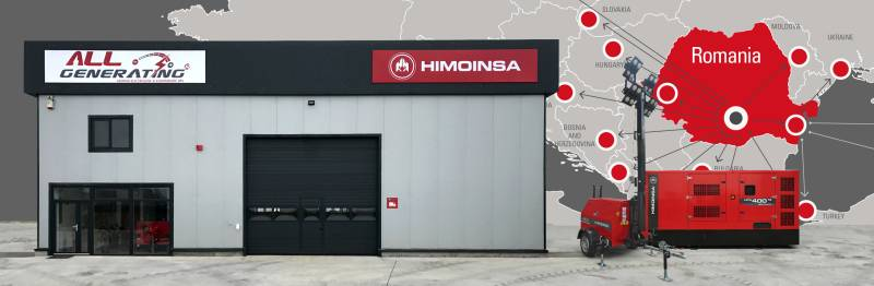 HIMOINSA opens a logistics warehouse  in Romania